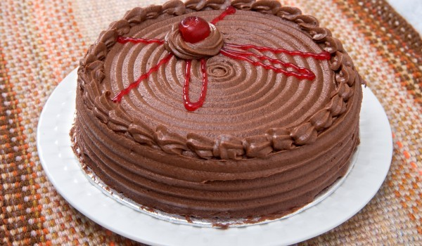 Торта Гараш с млечен шоколад