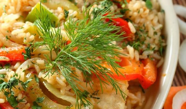 Ориз с тиквички и картофи