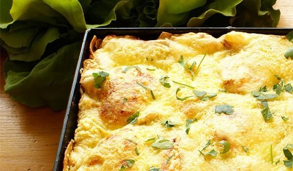 Яйца с картофи по селски