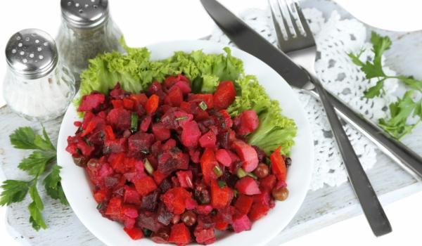 Винегрет от зеленчуци