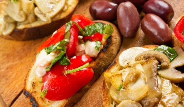Предястие от мариновани зеленчуци