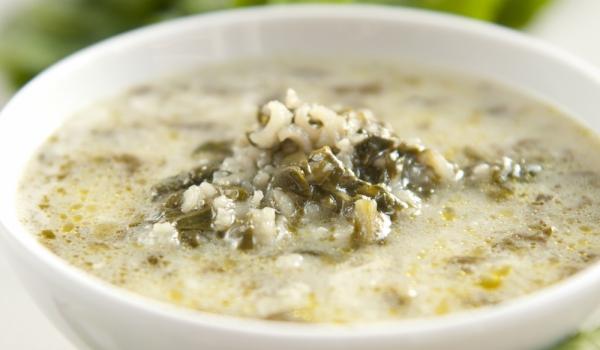 Средиземноморска супа със спанак и ориз