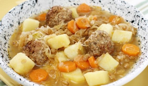 Супа топчета от риба