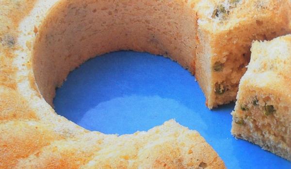 Солен кекс с грах и сирене Пекорино