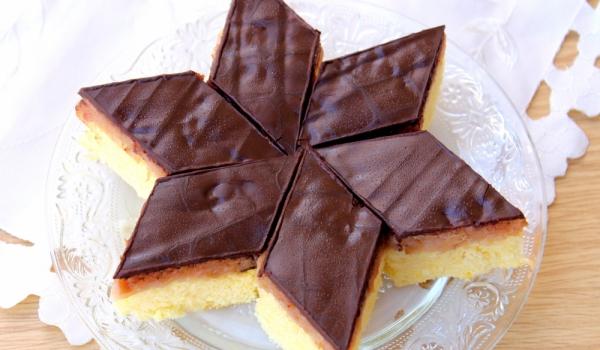 Експресна торта с два вида шоколад